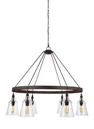 6 light chandelier chandelier traditional dark weathered iron steel