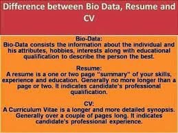 Cv Versus Resume Resume Badak Cool Cv Versus Resume