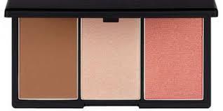 sleek makeup face form palette in light