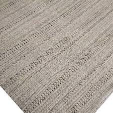 amazing braided wool flat weave area rug rugs grey solid for decorations 17