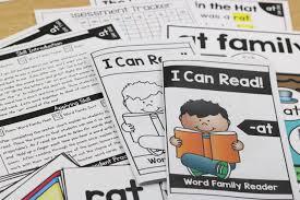 Poem About Curriculum Design Kinderwordfamilies Curriculum Little Minds At Work