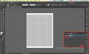 Adobe Chart Maker Creating Graph Templates For Your Stitch People Patterns