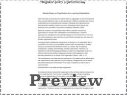 immigration policy argument essay coursework service immigration policy argument essay