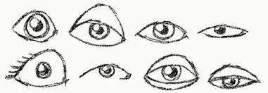 Resultado de imagen para ojitos de caricatura
