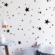 wall stickers silver star wall stickers instagram stars kids wallpaper awesome silver star wall