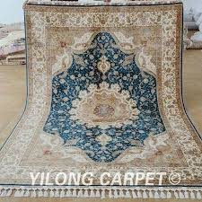 blue medallion oriental rug 23 image good