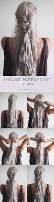 4 khaleesi inspired twist
