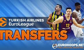 Turkish Airlines Euroleague Transfers 2019 Eurohoops