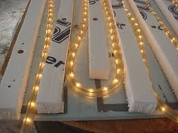 view bench rope lighting. home made bottom heat for seed starting using christmas view bench rope lighting