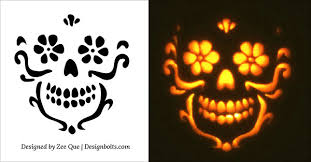 pumpkin carving patterns free 10 free halloween scary cool pumpkin carving stencils patterns