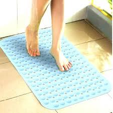 non skid shower mat bath bathroom slip anti with regard to mats decor 15
