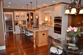Unique Kitchen Darkbrown Unique Kitchen Island Ideas With Cream Granite