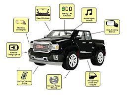rollplay 12v gmc sierra denali child's battery ride on, black  at Rollplay Gmc Sierra Wire Diagram