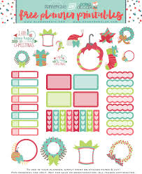 free office planner. Free Printable Christmas Planner Stickers Home Office Planners