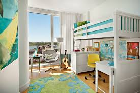 bunk bed office underneath. loft bed with desk underneath home office contemporary bunk