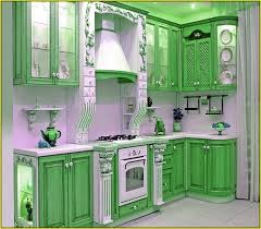 painted kitchen cabinet ideasTwo Tone Painted Kitchen Cabinet Ideas  Home Design Ideas