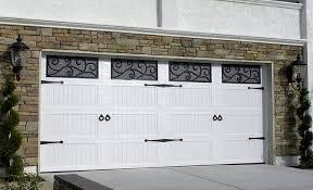 unique garage door carriage house long panel
