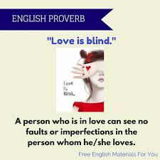 Love Is Blind Quotes Custom Shakespeare Quote Love Is Blind Free English Materials For You