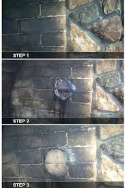 clean fireplace bricks awesome how to remove soot from brick fireplace part 5 cleaning fireplace soot clean fireplace bricks