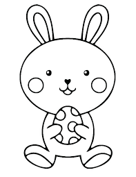 Easter Bunny Coloring Pages Free Bunny Coloring Pages Bunny Color