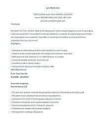 Resume Template Student No Experience Cv Template Graduate No