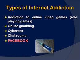 process addictions types of internet addiction