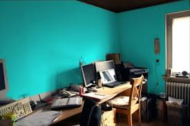 not sure if well do just one wall in there or what but im thinking of going a bit crazy and caribbean in the office with something aqua or blue blue office walls