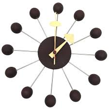 george nelson wall clock nelson for miller ball clock model for george nelson wall clock