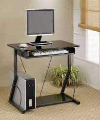 Small Computer Desk For Bedroom Walmart Computer Table Furniture Black Metal Computer Desk