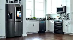 samsung black stainless fridge reviews kitchen appliance packages steel bundle