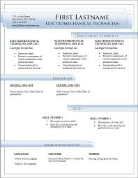 Free Resume Templates To Download To Microsoft Word - April ...