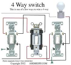 wire switch wiring diagram for four 4 way switch circuit