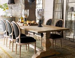 farm dining room table. farmhouse dining room table with awesome black chairs farm n