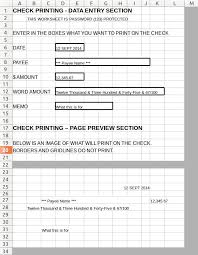 Check Printing Templates