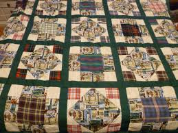Ronda's Quilts & Memory Quilt Number 3 (Golf Theme) Adamdwight.com