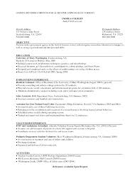 resume simple example basic resume objective sample resume objectives free sample example