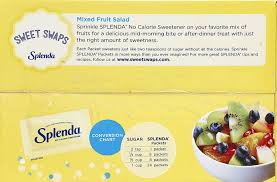 Splenda No Calorie Sweetener Value Pack 1000 Individual Packets 2 2 Lbs