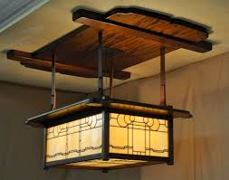 arts and crafts ceiling light designs