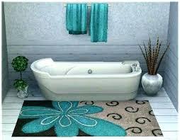 modern bath rugs blue bath rugs blue green bath rugs rug set of 2 light bathroom