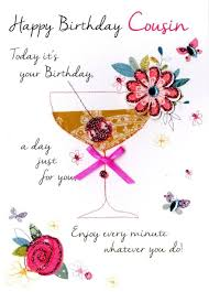 Cousin Birthday Quotes Fascinating Enjoy Every Minute Whatever You Do Happy Birthday Dear Cousin