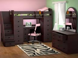 Full Size Loft Bed with Desk underneath and Storage \u2014 All home ...
