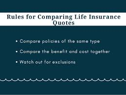 Comparing Life Insurance Quotes Adorable Compare Life Insurance Quotes
