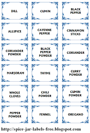 Spice Jar Labels Printable Spice Jar Labels And Template To Print Free 1 1 Crafts Jar