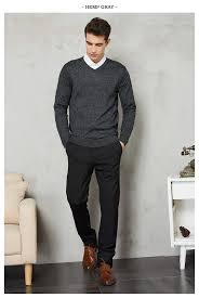 14Color <b>2019 Autumn</b> Winter New Knitted Pullover <b>Men</b> Business ...