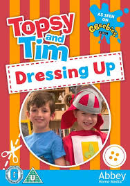 Bbc Dvd Chart Topsy Tim Dressing Up Dvd With Free Stickers And Reward