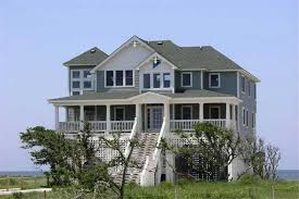 130 1007 4 bedroom 2398 sq ft beachfront house plan 130 1007 front