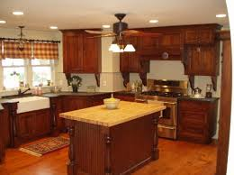 rustic cherry kitchen cabinets. Simple Kitchen Lovely Rustic Cherry Kitchen Cabinets  Andifurniture For P