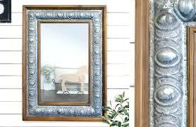 rustic wood framed mirrors. Farmhouse Vanity Mirror Rustic Wood Framed Metal Decor Mirrors I