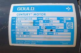480 220 magnetek motor wiring diagram Century Ac Motor Wiring Ao Smith Electric Motor Wiring