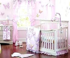 baby girl ideas nursery erfly bedding decor awesome crib sets purple but